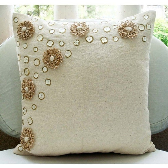How To Make Throw Pillow Covers By Hand : Pillow Cover Embroidery Designs Decorticosis
