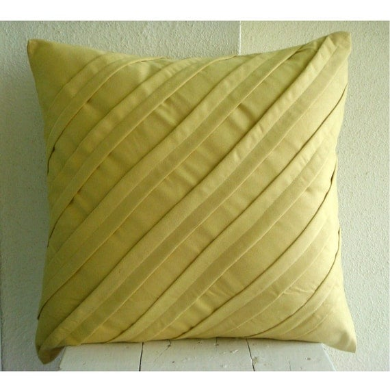 Decorative Throw Pillow Covers Accent Couch 18 Inch Suede Pillow Cover Home Living Decor Contemporary Maple Butter Sofa Toss Bedroom Pillow