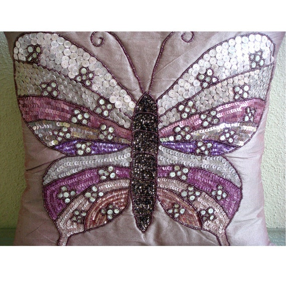 thehomecentric - Pink Decorative Pillow Cover, 16