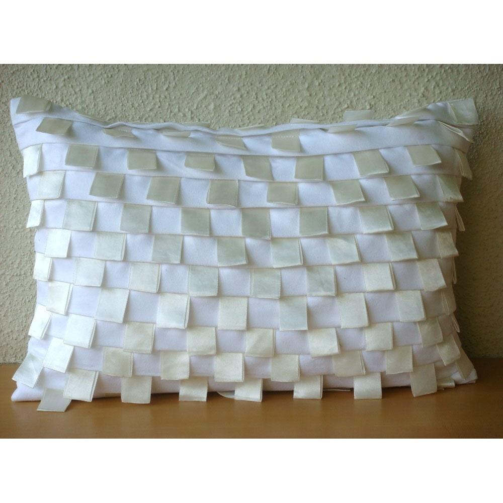 Decorative Oblong Lumbar Throw Pillow Cover Couch Sofa Pillow