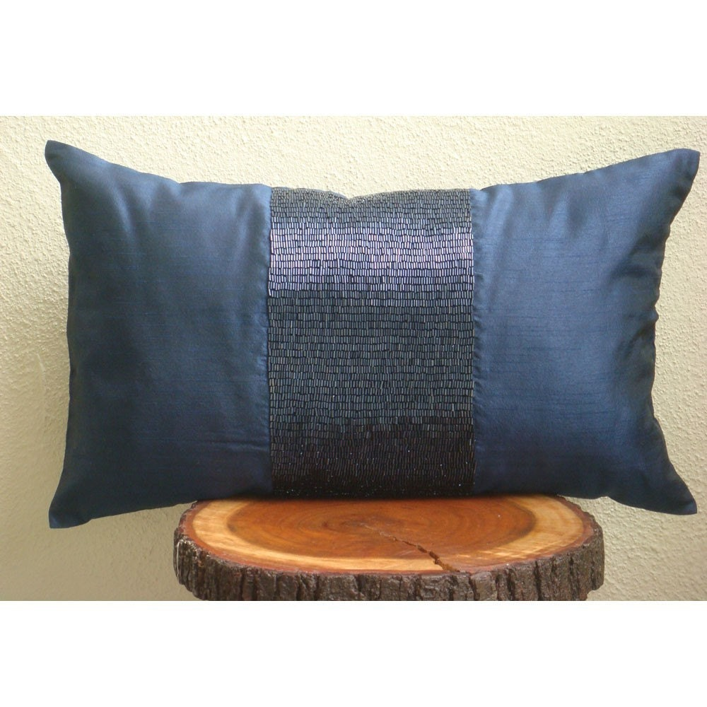 Decorative Oblong / Lumbar Rectangle Pillow Covers Accent
