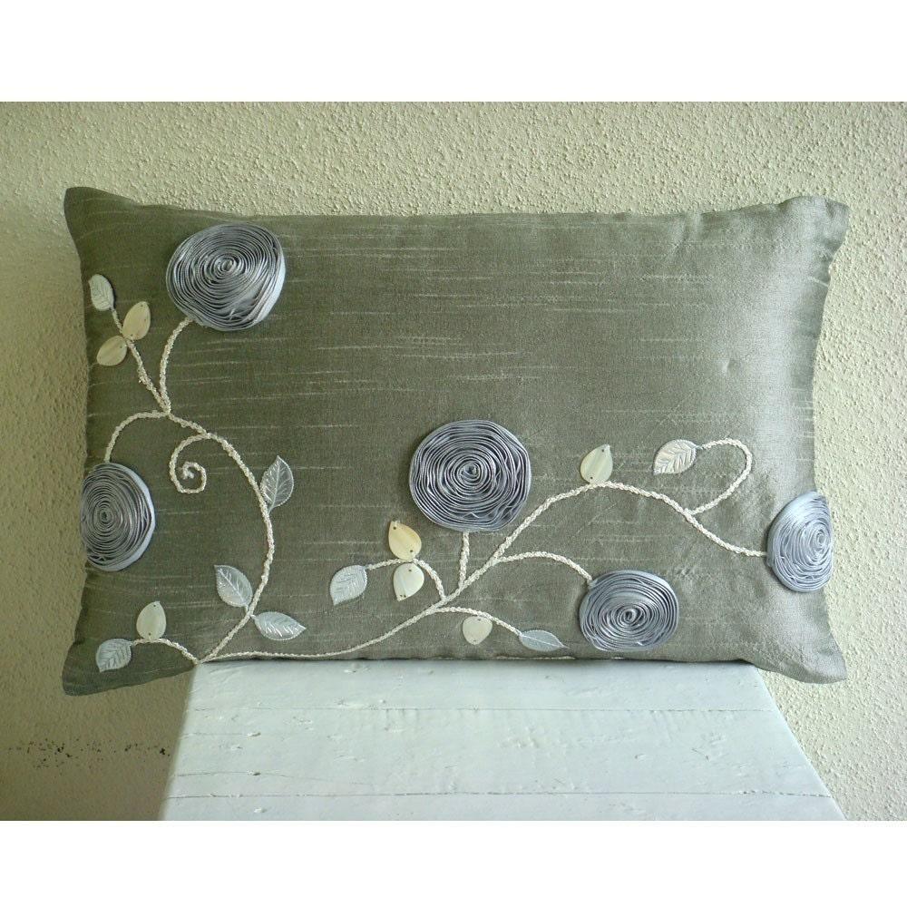 decorative oblong lumbar rectangle throw pillow covers