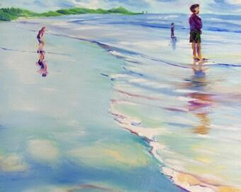 Coast Drama 5 original Oregon Coast landscape oil painting