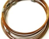 3pcs Copper Stainless Steel Chain Cord 16 inches