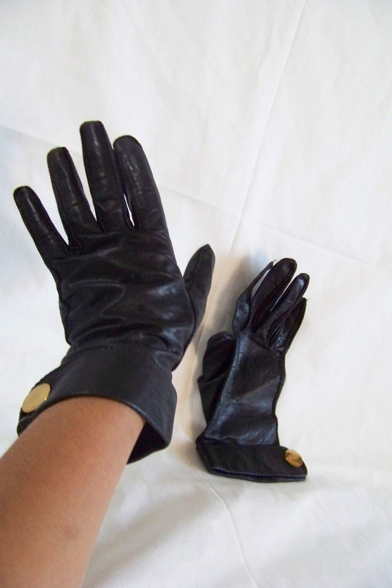 1950s Hermes Style Gloves by Alexette Bacmo