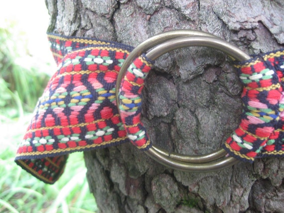 Ooh-oh and you're mary tyler moore vintage 70's embroidered belt