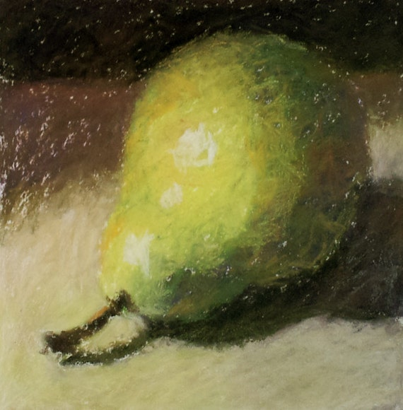 Pear Painting by Cynthia Haase Fine Art