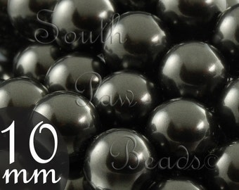 10mm Black pearls, 5810 SWAROVSKI (10)