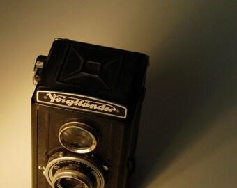 Voigtlander, Vintage Camera, 8 x 10 Photo Art Print, FREE Matting