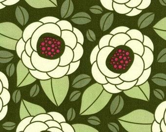SALE Joel Dewberry - Home Decor Fabric - Ginseng - Bloom HDJD02 Thyme - 1 yard