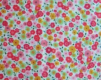 Alexander Henry Calico floral in pink AH6946B - 1 yard