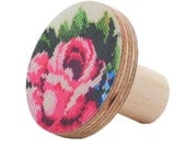 Wooden wall Hook flower rose design
