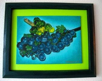 Lucite Grapes original painting