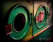 Laundromat - Fine Art Photograph 8x10