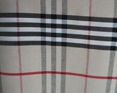 Burberryesque Interior Decorator Fabric Yardage
