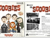 Buffy and The Scoobies Front and Back Set - 12.5 X 12.5 PRINT(s)