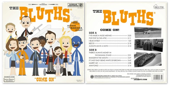 The Bluths Front and Back set - 12.5 X 12.5 PRINT(s)