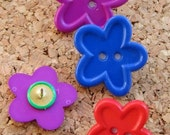 Flower Pushpins (10% proceeds donated)