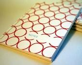 sewn notepad