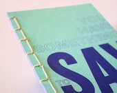 Sewn notebook