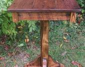 Reclaimed Antique Chestnut Breakfast Pub Table