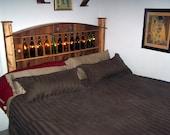 The Wine Bottle Platform Bed