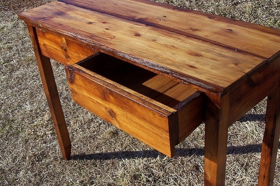 Hall Console Table and Writing Desk