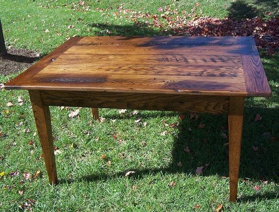 Solid Oak French Country Farm Table