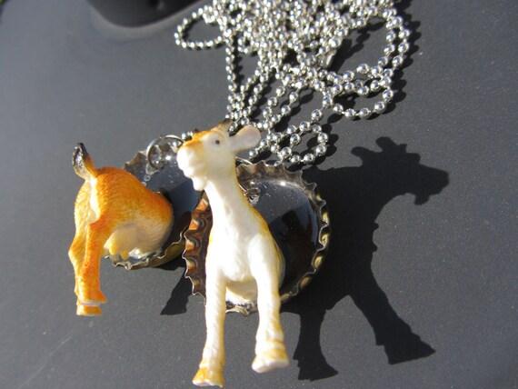 RePurposed Goat Best Friend Necklaces
