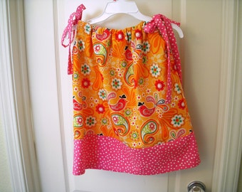 Girls Pillowcase 2 in 1 Dress  SALE Size 3t  Ready to ship Hand Made