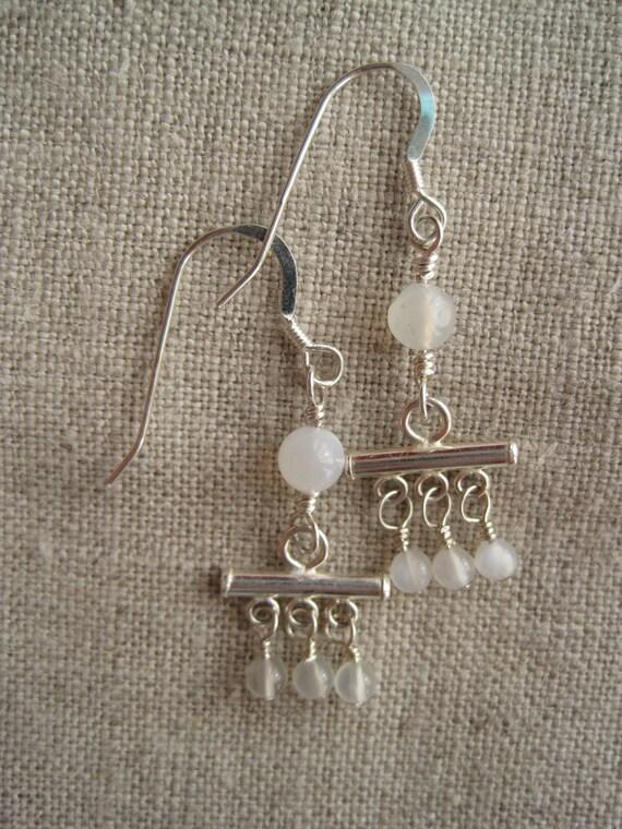 sale - moonstone mini chandeliers