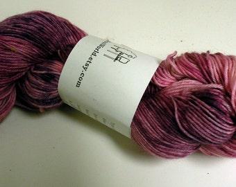 Katie's foot candy,Light fingering weight sock yarn 100 gram