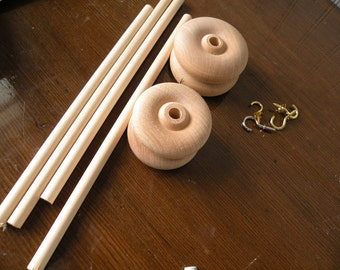 4 piece drop spindle kit