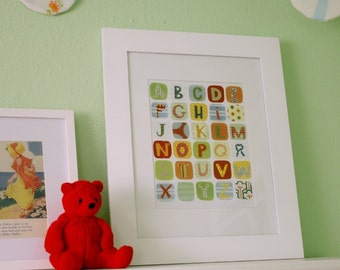 Colorful ABC Print