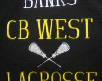 Sports Team Fleece Blanket