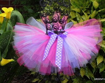 Tutu, Toddler Girl Tutu, Lavender Tutu, Birthday Tutu, Adjustable, Costume,  Dress Up Play, Dance Recital, Girls Gift Idea,  Groovy Gurlz