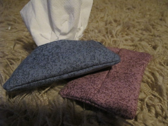 Set of 2 Speckle Print Pocket Tissue Cozies (331)