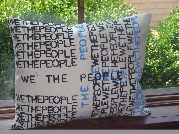 We The People Pillow