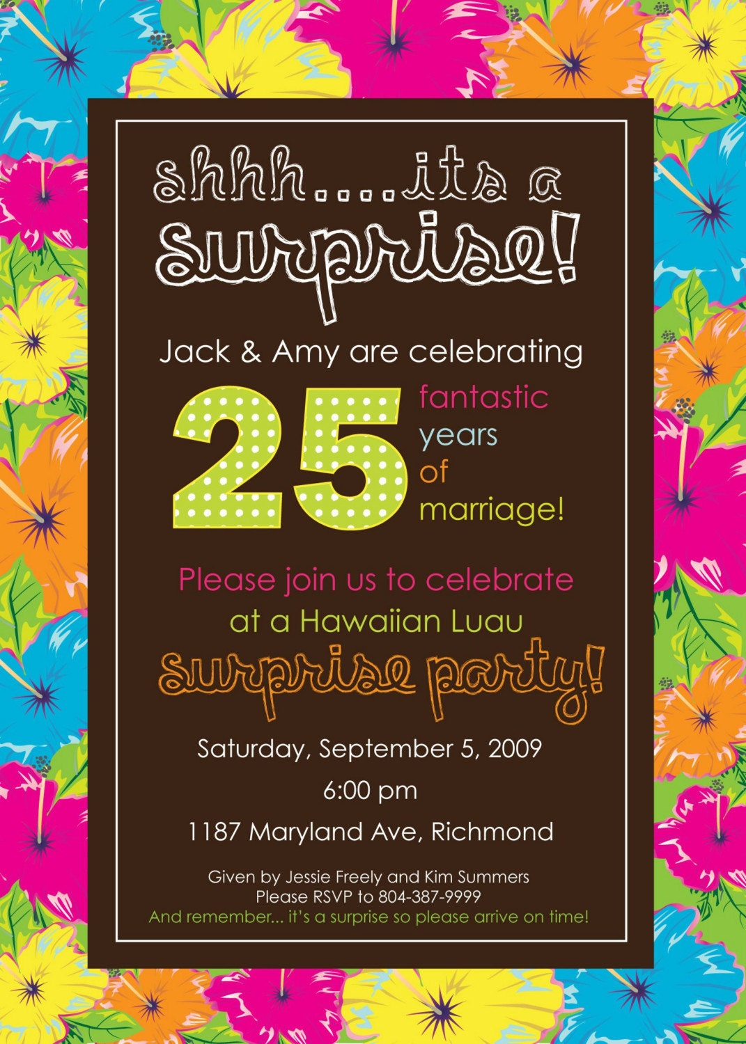 Free Surprise Birthday Invitation Templates for best invitation ideas