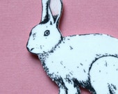 Sweet and simple Rabbit Pin