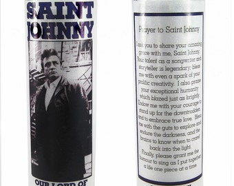 Saint Johnny prayer candle