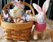 Round Easter Basket