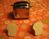 Let's Make Toast (Earring and Necklace SET)