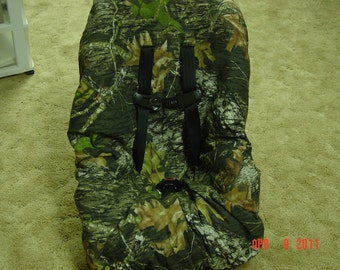 Mossy oak camo  toddler car seat cover