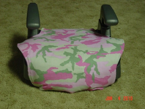 Pink Camo Toddler Booster Seat Cover
