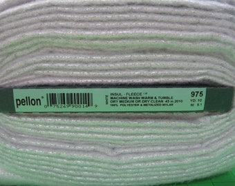 A 1/2 yard piece of Pellon Insulated Fleece 45 inches wide