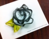 Zipper Flower Tutorial- How To PDF File includes Pin, Headband and more