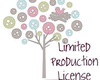 Custom Limited Production License For RufflesandTulle
