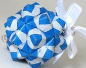 Origami Ornament - Blue Modular Petite