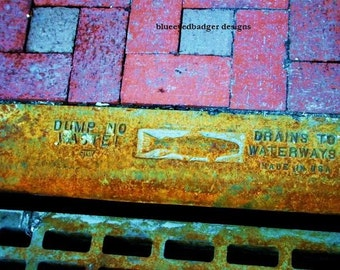 dump no waste...original fine art photography